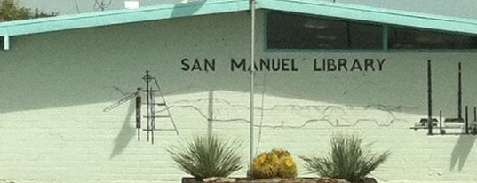 San Manuel Library is one of PCLD Libraries.