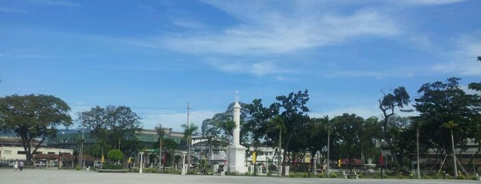 Plaza Independencia is one of The Best of Cebu City 2012.