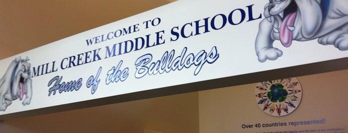 Mill Creek Middle School is one of Seattle Washington.