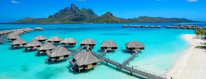 Four Seasons Resort Bora Bora is one of мой список.