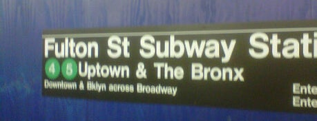 """MTA Subway - Fulton St (A/C/J/Z/2/3/4/5) is one of """"Be Robin Hood #121212 Concert"""" @ New York!."""
