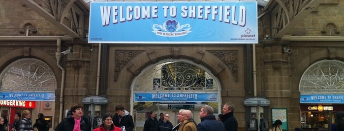 Sheffield Railway Station (SHF) is one of Railway Stations in UK.