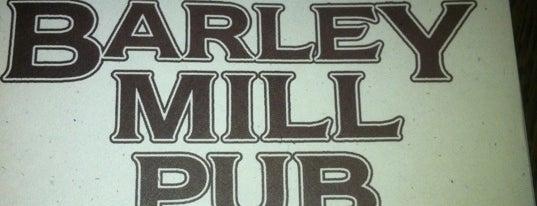 Barley Mill Pub is one of McMenamin's.