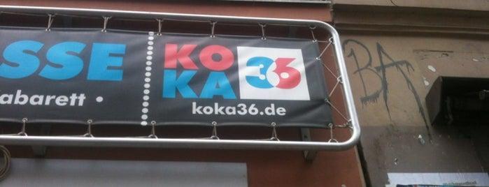 Koka 36 Konzertkasse is one of Berlin And More.