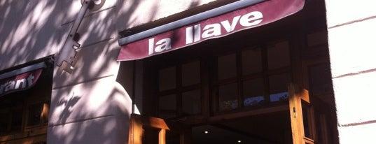 La Llave is one of Restaurants col·laboradors 2011.