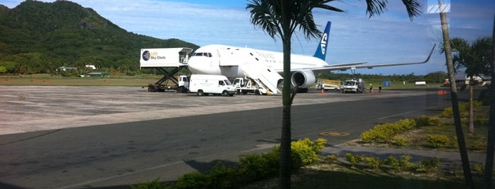 Rarotonga International Airport (RAR) is one of Airports of the World.
