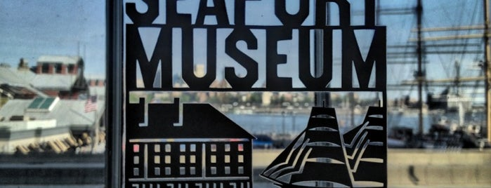 South Street Seaport Museum is one of NY to do.