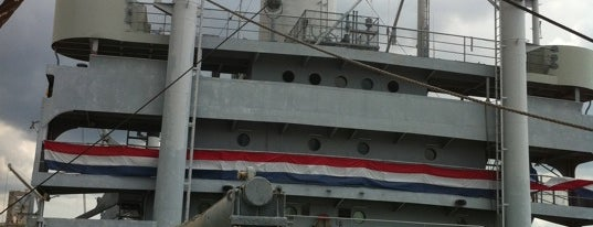 SS American Victory Mariners Memorial & Museum Ship is one of Best Haunts and Scares In United States-Halloween.
