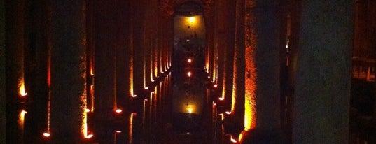 Basilica Cistern is one of Denemeden geçmeyin! ;).
