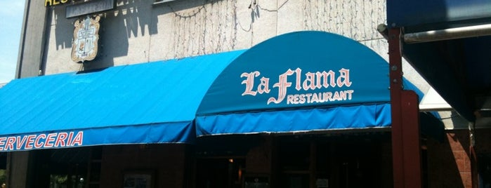 La Flama is one of Lugares LH.