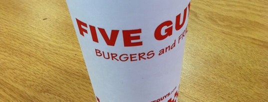 Five Guys is one of My Houston Spots.