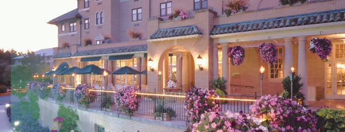 The Hotel Hershey is one of Sweet Spots of Hershey Harrisburg, PA #visitUS #4s.