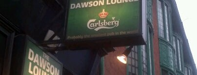 The Dawson Lounge is one of Dublin.