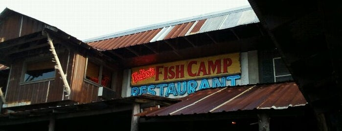 Felix's Fish Camp Grill is one of Favorite Restaurants.