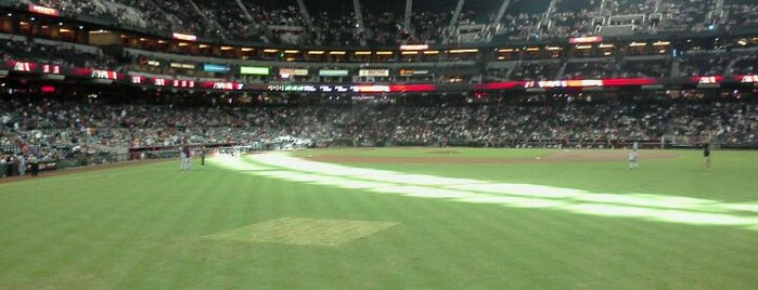 Chase Field is one of Pro Stadiums in the Valley.