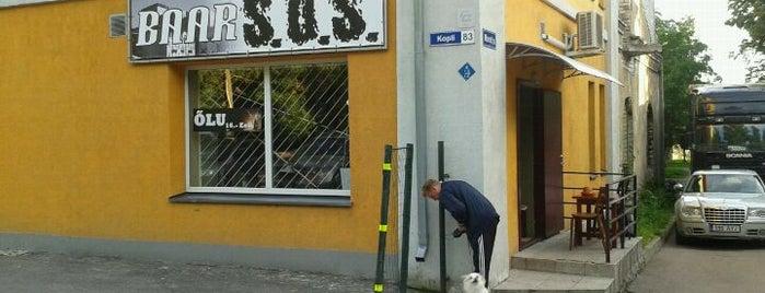 S.O.S. Baar is one of The Barman's bars in Tallinn.