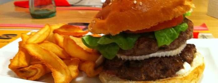 The Burger Lab is one of Madrid.