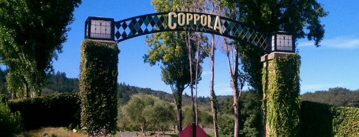 Francis Ford Coppola Winery is one of San Francisco Bay Area.