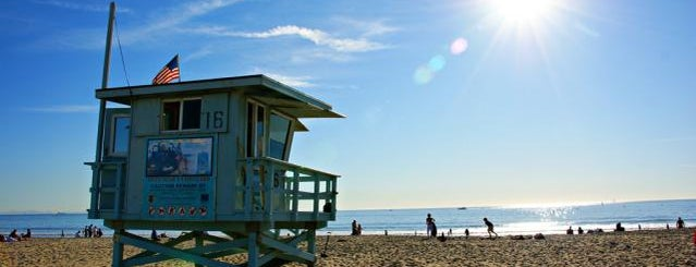 Santa Monica State Beach is one of USA Trip 2013 - The West.