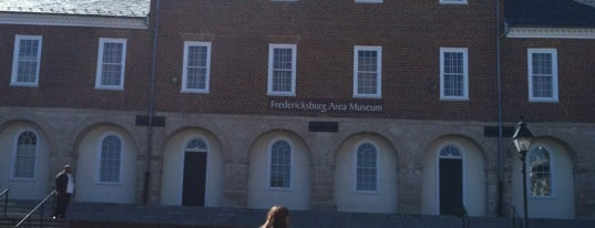 Fredericksburg Area Museum and Cultural Center is one of Virginia.