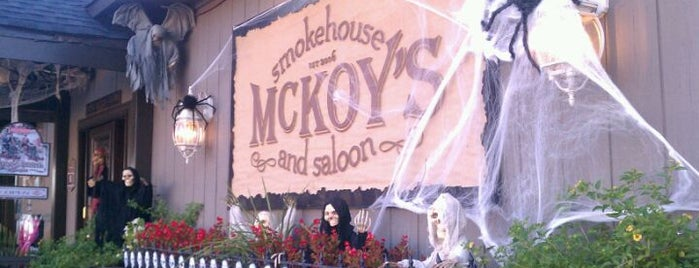 McKoy's Smokehouse & Saloon is one of Charlotte's Best BBQ Joints - 2012.