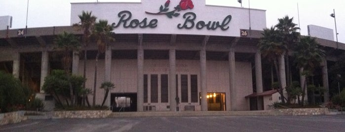 Rose Bowl Stadium is one of Pac-12 Football.
