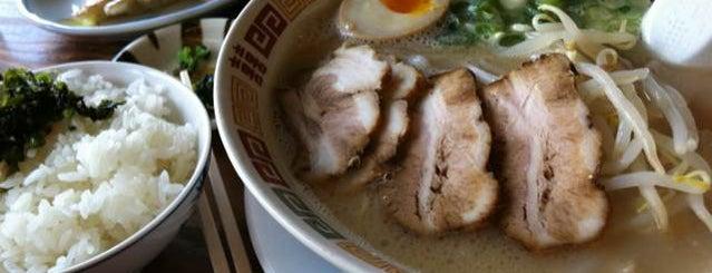 久留米純とんこつ 岡村屋 is one of ramen.