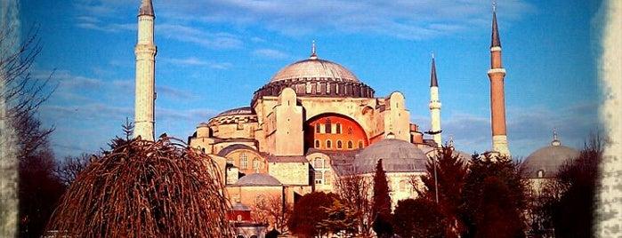 Hagia Sophia is one of İstanbul'daki Müzeler (Museums of Istanbul).