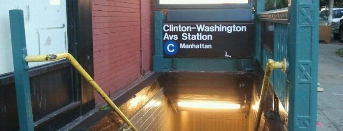 MTA Subway - Clinton/Washington Aves (A/C) is one of Subway Stations.