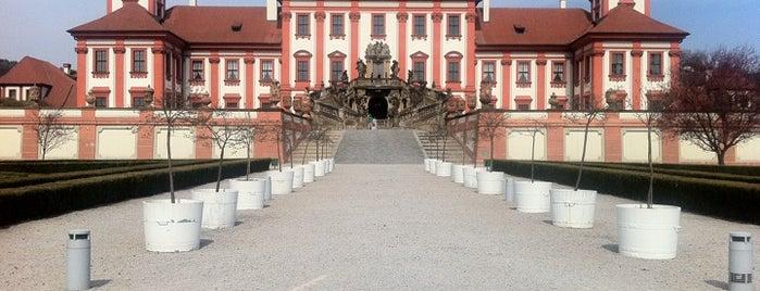 Troja Castle is one of Prague.
