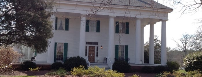 Barrington Hall is one of Visit Roswell, GA.