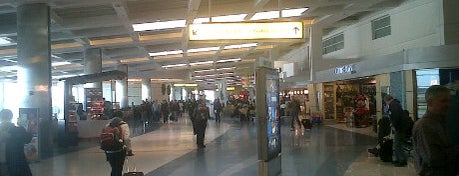 Baltimore/Washington International Thurgood Marshall Airport (BWI) is one of York College Student Hotspots.
