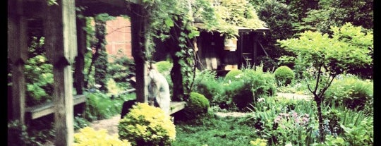 6BC Botanical Community Garden is one of Best outdoor reading and thinking spots.