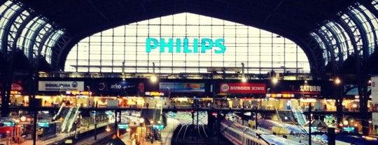 Hamburg Hauptbahnhof is one of Mein Deutschland.