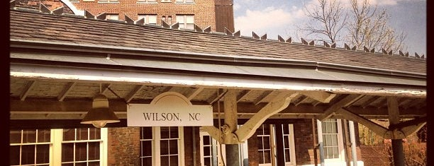 Amtrak - Wilson Station (WLN) is one of Trains - North Carolina.
