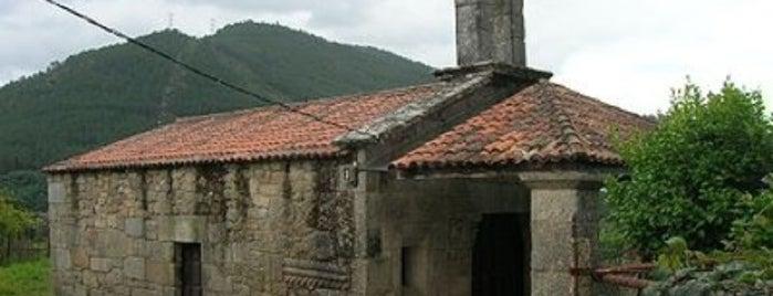 Capela de San Xes de Francelos is one of Best of Ourense ❤.