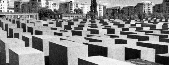 Memorial to the Murdered Jews of Europe is one of berlin.