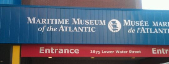Maritime Museum of the Atlantic is one of Halifax, NS.
