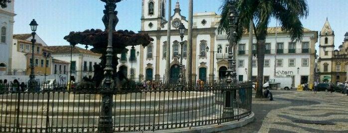 Terreiro de Jesus is one of Salvador.