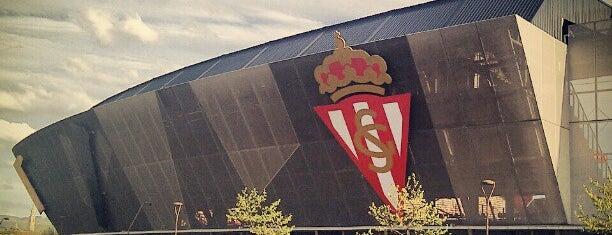 Estadio Municipal El Molinón is one of Campos de fútbol.