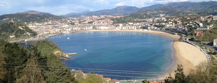 La Concha Beach is one of Spots de Titou sur côte landaise et basque.