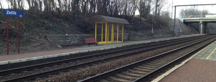 Station Zellik is one of Bijna alle treinstations in Vlaanderen.