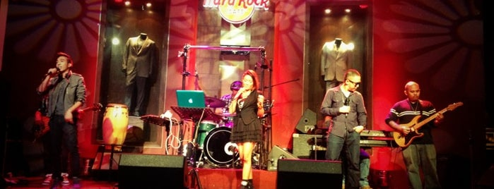 Hard Rock Cafe Makati is one of Hard Rock Cafe.