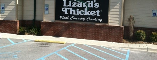 Lizard's Thicket is one of My Places.
