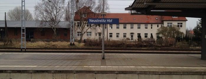 Neustrelitz Hauptbahnhof is one of Bahnhöfe DB.