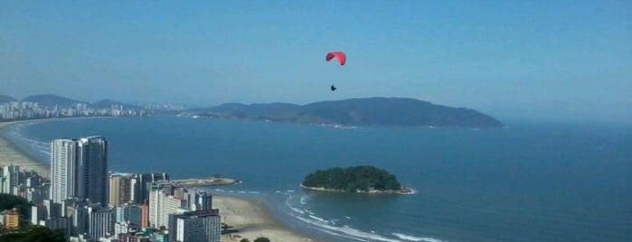 Pouso de Paraglider e Asa Delta, Paramotor is one of Santos Cultural.
