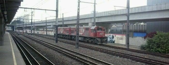 Estação Domingos de Moraes (CPTM) is one of Transporte.