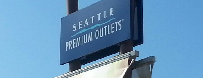 Seattle Premium Outlets is one of LIFE IN SEATTLE, WA!!.