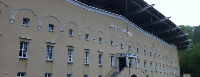 Stadion am Zoo is one of Fußball Stadien 1. Bundesliga & Co..