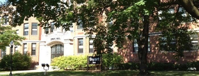 Swart Hall is one of UW Oshkosh Admissions Tour.